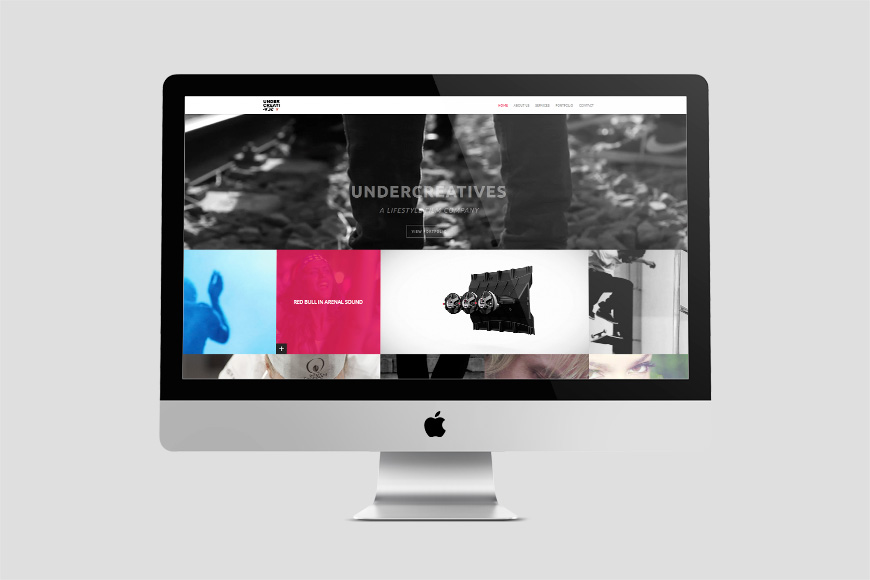 UNDERCREATIVES WEBSITE